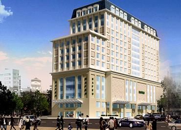 Hoàn thành Hợp đồng cung cấp cho dự án Vietcom Bank Cát Linh