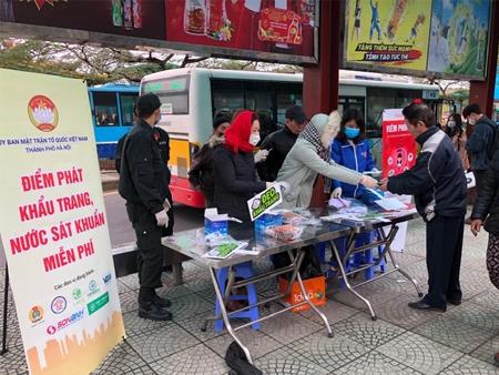 Cty Sơn Anh chung tay ngăn lây lan Virus Corona